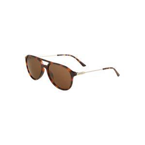 Calvin Klein Sluneční brýle 'CK20702S'  hnědá / béžová