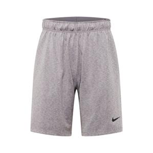 NIKE Sportovní kalhoty  šedý melír