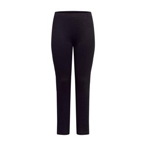 PIECES (Curve) Kalhoty  černá