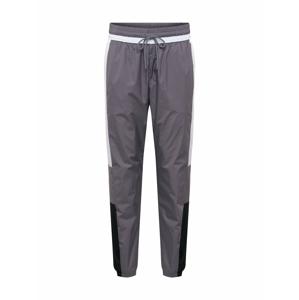 Nike Sportswear Kalhoty  bílá / tmavě šedá / černá