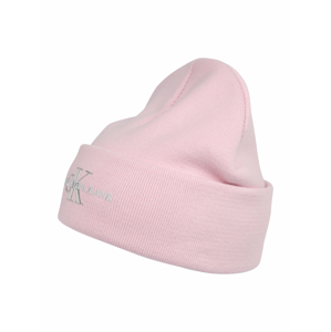 Calvin Klein Jeans Čepice  růžová / stříbrná