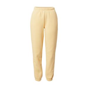 Gina Tricot Kalhoty  pastelově žlutá